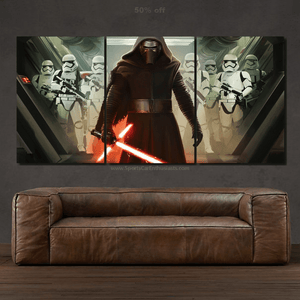 Star Wars Canvas 3/5pcs FREE Shipping Worldwide!!