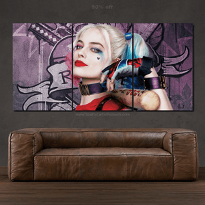 Suicide Squad Canvas 3/5pcs FREE Shipping Worldwide!!