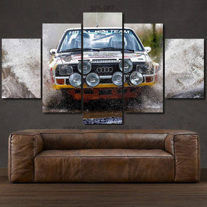 Audi S1 Quattro Canvas FREE Shipping Worldwide!!