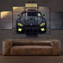 Load image into Gallery viewer, BMW M8 GTE Canvas FREE Shipping Worldwide!!