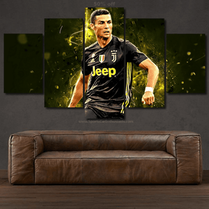 Cristiano Ronaldo 3/5pcs Canvas FREE Shipping Worldwide!!