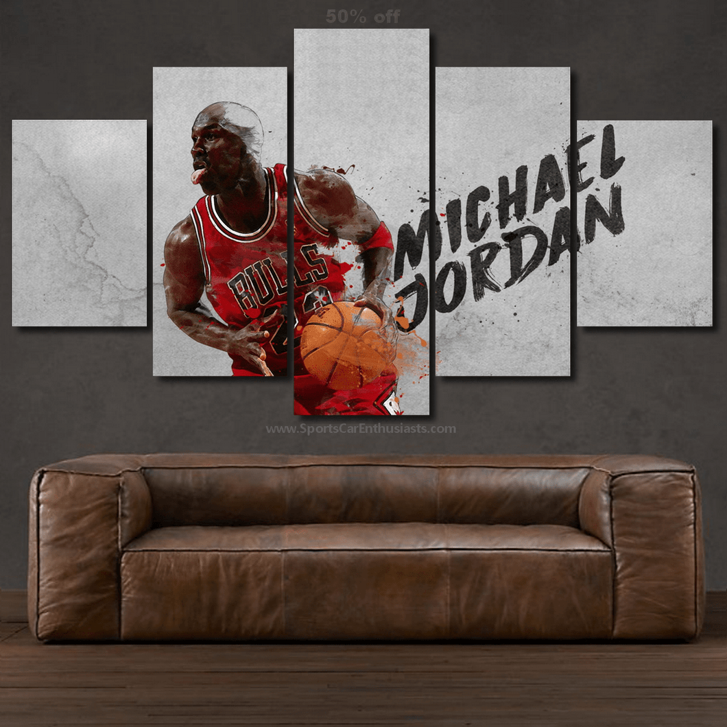 Michael Jordan 3/5pcs Canvas FREE Shipping Worldwide!!
