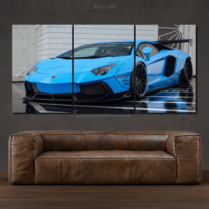 Lamborghini Aventador Liberty Walk Canvas 3pcs FREE Shipping Worldwide!!
