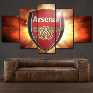 Arsenal FC Canvas 3/5pcs FREE Shipping Worldwide!!