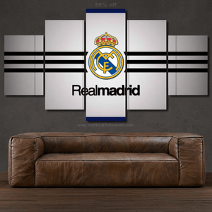 FC Real Madrid 3/5pcs Canvas FREE Shipping Worldwide!!
