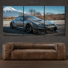 Load image into Gallery viewer, Nissan GT-R R35 Liberty Walk 3pcs Canvas FREE Shipping Worldwide!!
