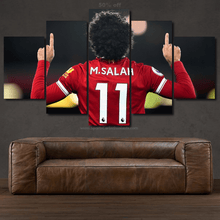 Load image into Gallery viewer, Mohamed Salah  3/5pcs Canvas FREE Shipping Worldwide!!