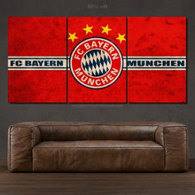 Load image into Gallery viewer, FC Bayern Munchen 3/5pcs Canvas FREE Shipping Worldwide!!