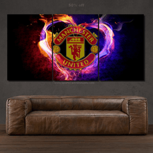 Load image into Gallery viewer, FC Manchester United 3/5pcs Canvas FREE Shipping Worldwide!!