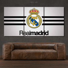 Load image into Gallery viewer, FC Real Madrid 3/5pcs Canvas FREE Shipping Worldwide!!