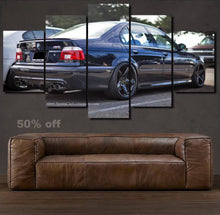 Load image into Gallery viewer, BMW E39 M5 Canvas 3/5pcs FREE Shipping Worldwide!!