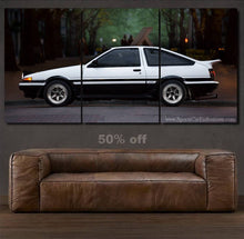 Load image into Gallery viewer, Toyota AE86 Canvas 3/5pcs FREE Shipping Worldwide!!