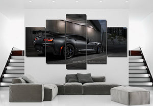 Chevrolet Corvette Canvas 3/5pcs FREE Shipping Worldwide!!