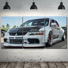 Load image into Gallery viewer, Mitsubishi Lancer Evo Canvas 3pcs FREE Shipping Worldwide!!