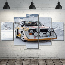 Load image into Gallery viewer, Audi S1 Quattro Canvas FREE Shipping Worldwide!!