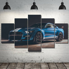 Charger l'image dans la galerie, Ford Mustang Shelby GT500 Canvas FREE Shipping Worldwide!!