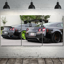 Laden Sie das Bild in den Galerie-Viewer, GT-R R35 Liberty Walk Canvas 3pcs FREE Shipping Worldwide!!