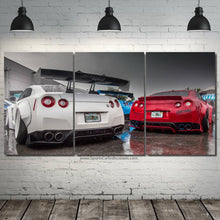 Load image into Gallery viewer, GT-R R35 Liberty Walk Canvas 3pcs FREE Shipping Worldwide!!