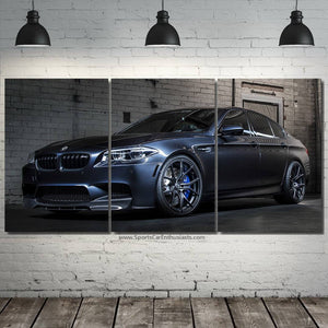 BMW M5 Canvas FREE Shipping Worldwide!!