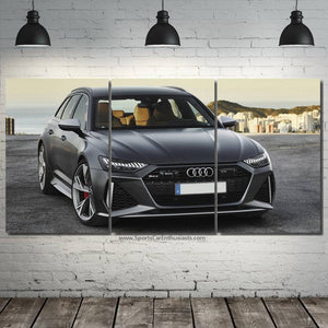 Audi RS6 2020 Canvas 3/5pcs FREE Shipping Worldwide!!