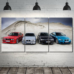BMW M3 Evolution Canvas 3/5pcs FREE Shipping Worldwide!!