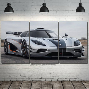 Koenigsegg Agera one:1 Canvas FREE Shipping Worldwide!!
