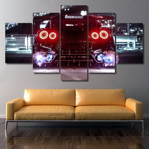 GT-R R35 Canvas FREE Shipping Worldwide!!
