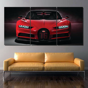 Bugatti Chiron Canvas 3/5pcs FREE Shipping Worldwide!!