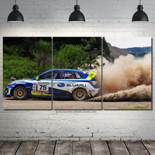 Load image into Gallery viewer, Rally Subaru STI Canvas 3/5pcs FREE Shipping Worldwide!!
