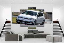 Load image into Gallery viewer, VW Golf GTI Canvas 3/5pcs FREE Shipping Worldwide!!