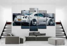 Load image into Gallery viewer, Nissan GT-R R35 Liberty Walk Canvas 3/5pcs FREE Shipping Worldwide!!