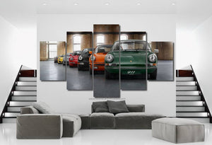 Porsche 911 Evolution Canvas FREE Shipping Worldwide!!