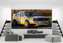 Load image into Gallery viewer, Audi Quattro Canvas FREE Shipping Worldwide!!