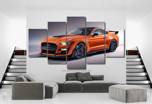 Ford Mustang Shelby GT500 Canvas 3/5pcs FREE Shipping Worldwide!!