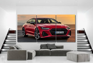 Audi RS7 Canvas 3/5pcs FREE Shipping Worldwide!!