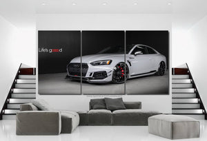 Audi RS5 R ABT Canvas 3/5pcs FREE Shipping Worldwide!!