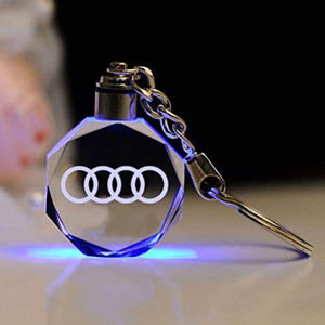 Laser Engraved Crystal Keyring FREE Shipping Worldwide!!