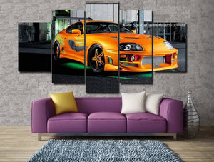 Toyota Supra Canvas 3/5pcs FREE Shipping Worldwide!!