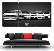 Load image into Gallery viewer, Nissan GT-R Canvas FREE Shipping Worldwide!!