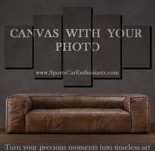 Load image into Gallery viewer, Custom Canvas 3/5pcs With Your Photo FREE Shipping Worldwide!!
