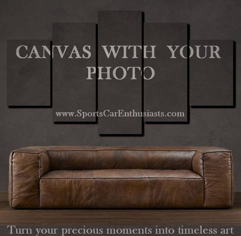 Custom Canvas 3/5pcs With Your Photo FREE Shipping Worldwide!!