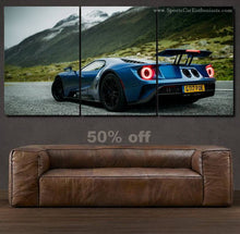 Load image into Gallery viewer, Ford GT Canvas 3/5pcs FREE Shipping Worldwide!!