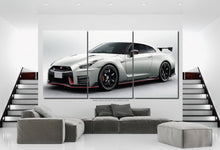 Load image into Gallery viewer, GT-R R35 Nismo Canvas 3/5pcs FREE Shipping Worldwide!!