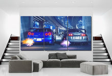 Load image into Gallery viewer, GT-R R34 & Supra Canvas FREE Shipping Worldwide!!