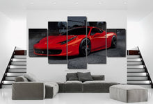 Load image into Gallery viewer, 458 Italia Canvas FREE Shipping Worldwide!!
