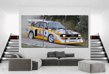 Load image into Gallery viewer, Audi S1 Quattro Canvas 3/5pcs FREE Shipping Worldwide!!