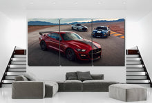 Load image into Gallery viewer, Ford Mustang Shelby Cobra Canvas 3/5pcs FREE Shipping Worldwide!!