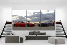 Load image into Gallery viewer, GT86 & GT-R R35 Canvas 3/5pcs FREE Shipping Worldwide!!