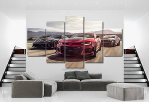 Muscle Cars Canvas FREE Shipping Worldwide!!