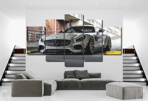 Mercedes Benz AMG GT S Canvas FREE Shipping Worldwide!!